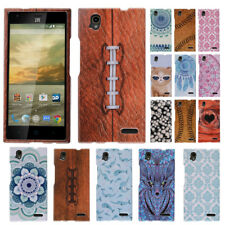 For ZTE Warp Elite Z9518 Various Patterned Snap On HARD Case Cover Accessory