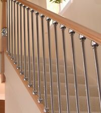 AXXYS Oak & Brushed Nickel Staircase Refurbishment Set - NOT CHROME