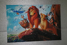 The Lion King canvas  Picture,Original or WITH GLITTER- DIAMOND DUST! Wall art.