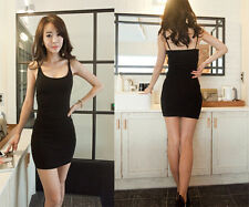 Slim New Sleeveless Summer Tight Package Bottoming Dress Skirt Hip Vest