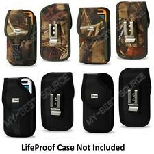 New Secure Holster Cover Pouch With Metal Belt Clip Fits LifeProof LG G5 Case On