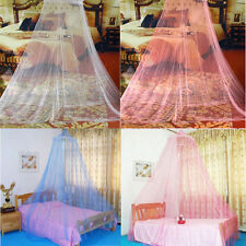 Round Lace Insect Bed Canopy Netting Curtain Dome Mosquito Net Elegant EUB Ship