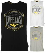 Everlast Vest Mens Sleeveless T-shirt Loose Fit Boxing Training ~All sizes S-XXL