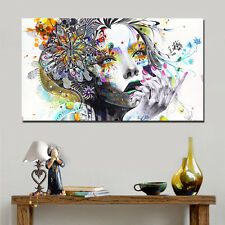 Modern Abstract Canvas Painting Print Minjae Lee Graffiti Street Art No Framed