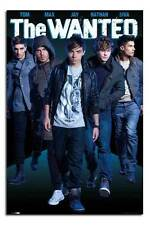 The Wanted Wall Poster New - Laminated Available