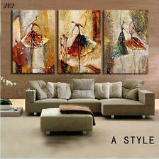 Hand Painted Modern Abstract Canvas Oil Painting Wall Art for Living Room Decor