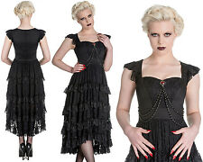 SPIN DOCTOR Ophelia ~ Gothic Vampire Lace Maxi Dress ~ Goth Victorian Hell Bunny
