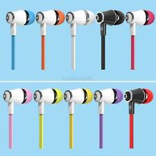 In-Ear Earphones Bass Stereo Earbuds Headset Headphones With Microphone Trendy