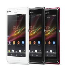 """Original Unlocked Sony Xperia L S36h C2105 - 4.3"""" 3G Wifi NFC 8MP Android Phone"""
