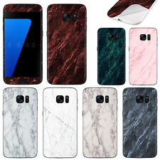 For Samsung Galaxy S7 G930 Marble Design Decal Vinyl Skin Cover Sticker