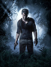 Uncharted 4 Game Silk Cloth Poster 32 x 24