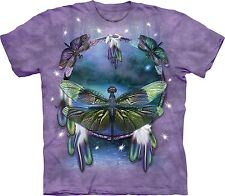Dragonfly Dreamcatcher Insect T Shirt Adult Unisex Mountain