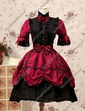 Victorian Dress Lolita Cosplay Gown Steampunk Theater Reenactment Clothing 229
