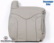 2000-2002 GMC Yukon XL 2500 SLT SLE -Passenger Lean Back Leather Seat Cover Tan