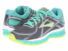 BROOKS ADRENALINE GTS16 ANTHRACITE GREEN 2016 WOMENS RUNNING SHOES  **ALL SIZES