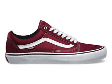 NEW Vans Old Skool Pro Shoes Port/White