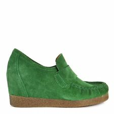 ARTe FACT Aramis Green Suede Wedge Loafer RRP£69