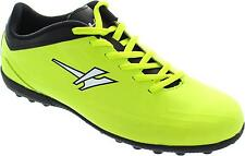 Gola Rapid Vx Older Boy's Volt Green Lace Up Astrorurf Football Trainers New
