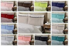 Queen Bamboo Egyptian Comfort 1800 Series Striped 6 Piece Sheet Set Winkle Free