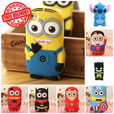 NEW! Cute 3D Cartoon Case Cover For Apple iPod Touch 4th 5th & 6th Generation