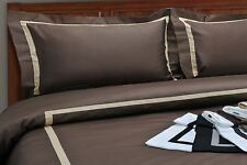 Luxury Hotel Collection 300TC Cotton Duvet Cover Set