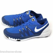 MENS NIKE FREE TRAINER 3.0 BLUE NAVY WHITE MENS RUNNING TRAINING TRAINERS SHOES