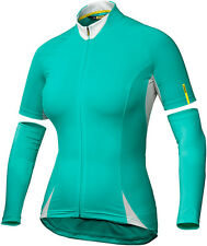 MAVIC AKSIUM WOMENS BIKE JERSEY BLUE 2016