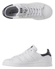 New Adidas Originals Men's Mens Stan Smith Leather Shoe Mens Shoes White