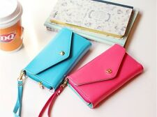 Multi Purpose Envelope Wallet Purse Bag For Iphone 4 4S 5 HTC One X Samsung MOTO