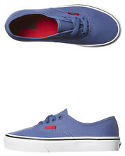 New Vans Boys Kids Authentic Shoe Rubber Canvas Children Boys Shoes Blue