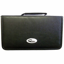 Neo Media CD DVD Wallet Leather Storage Carry Case for 48 96 120 Storage Holder