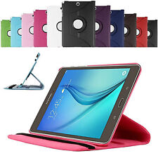 360 Rotating Smart Case Cover For Samsung Galaxy Tab A 9.7 T550 + Protector