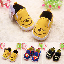Summer Newborn Baby Kids Boys Batman Crib Shoes Soft Sports Child Boots Trainers