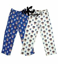 FDNY LOUNGE PANTS BOTTOMS SLEEPWEAR BLUE WHITE NY FIRE PAJAMA PANTS FIREMAN GIFT