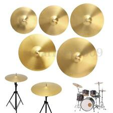 "12"" 14"" 16"" 18"" 20"" Splash Hi-hat Power Crash Ride Cymbal For Percussion Drummer"
