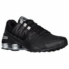 NIKE SHOX AVENUE BLACK SILVER WHITE MENS RUNNING SHOES **FREE POST AUSTRALIA