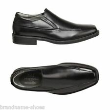 MENS JULIUS MARLOW WICKED MEN'S BLACK LEATHER SLIP ON WORK DRESS FORMAL SHOES