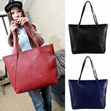 New Fashion Womens Synthetic Leather Vintage Style Shoulder Bag Casual Handbag