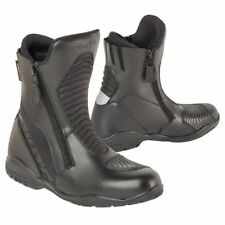 Akito Scout Leather Waterproof Short Motorbike Motorcycle Scooter Touring Boots