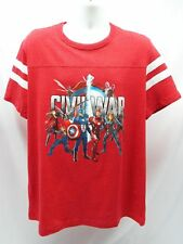 Captain America: Civil War T-Shirt (XL or2XL) Avengers Marvel Official #8023
