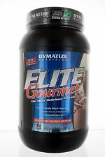 Elite Gourmet Protein Chocolate Peanut B 2 lbs by Dymatize Nutrition 24+ Serving