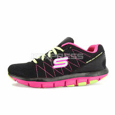 Skechers Liv To The Top [99999877BKHP] Running Black/Pink