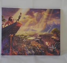 The-Lion-King canvas Picture, Original or WITH GLITTER - DIAMOND DUST!
