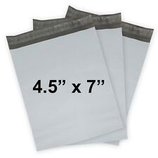 4.5x7 POLY MAILERS SELF-SEALING PLASTIC MAILERS FLAT SHIPPING COURIER POLY BAGS