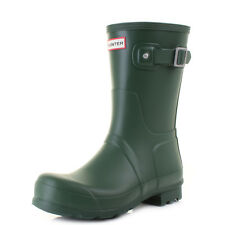 Mens Hunter Original Short Hunter Green Wellies Wellington Boots SIZE