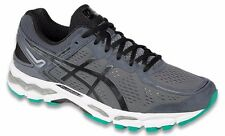 ASICS KAYANO 22 CARBON BLACK SILVER MENS RUNNING SHOES **FREE POST AUSTRALIA