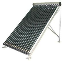 Solar Hot Water Heater Kit with 15, 20, or 30 Evacuated Tube Collectors
