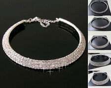 Necklace Lady Wedding Birthday Collar Crystal Rhinestone Charming Jewelry Choker