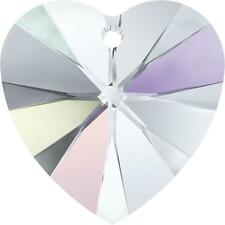 SWAROVSKI XILION HEART 6228 *18MM - ALL COLOURS *WHOLESALE & SMALL PACKS