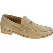 NEW Mens SEBAGO Taupe Suede CONRAD PENNY Loafers Shoes B160801